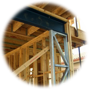 PT Column bracing and load bearing pfc